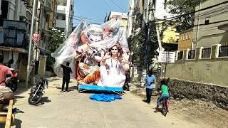 Ganesh idol Ready To Vinayaka Chavithi in Hyderabad 2018