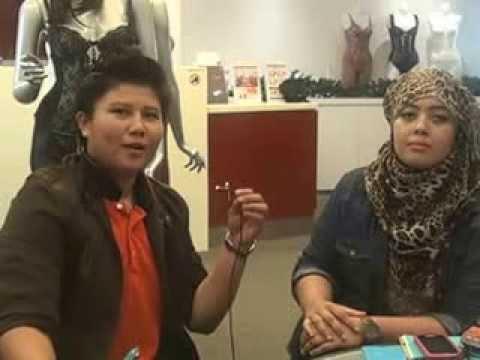Interview Bersama Superstar Adira Menghantar 20 Borang AEON dalam Masa 1 Minggu