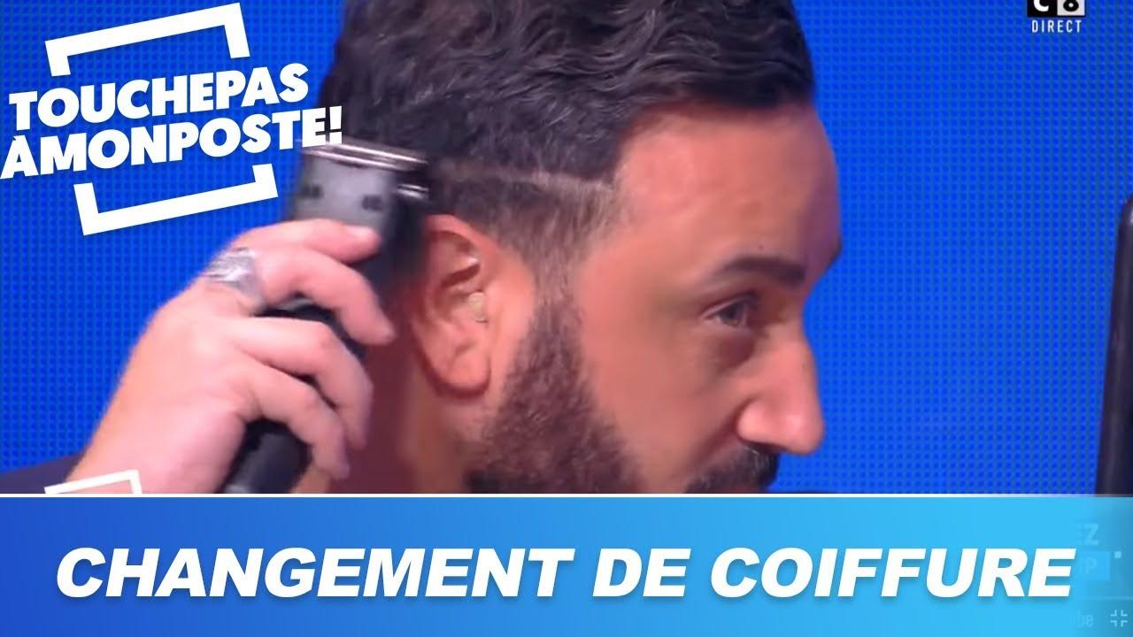 Cyril Hanouna : changement de coiffure en direct dans TPMP