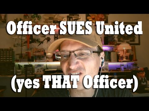 Officer Sues United Airlines after he Dragged Man Off Plane