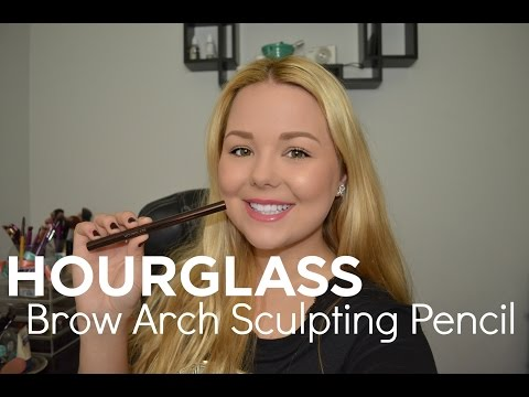 Hourglass Brow Arch Sculpting Pencil Review + Demo