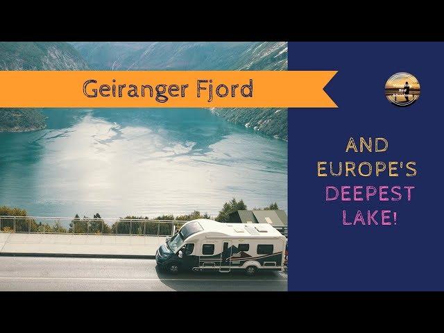 Motorhome tour - Norway 2018 Road trip- Geiranger Fjord & Europe's deepest lake! Wandering Bird