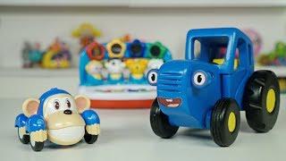 Распаковка развивающей музыкальной игры с Кукутиками - Поиграем в Синий трактор