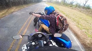 28 Stupid & Crazy Motorcycle Close Calls & Near Misses | Moto Madness