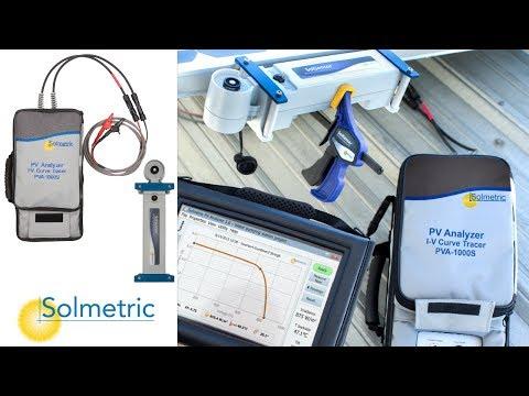 SOLMETRIC PV Analizer I-V Curve Tracer SPVA-1000S Kit - How To Guide | RENVU