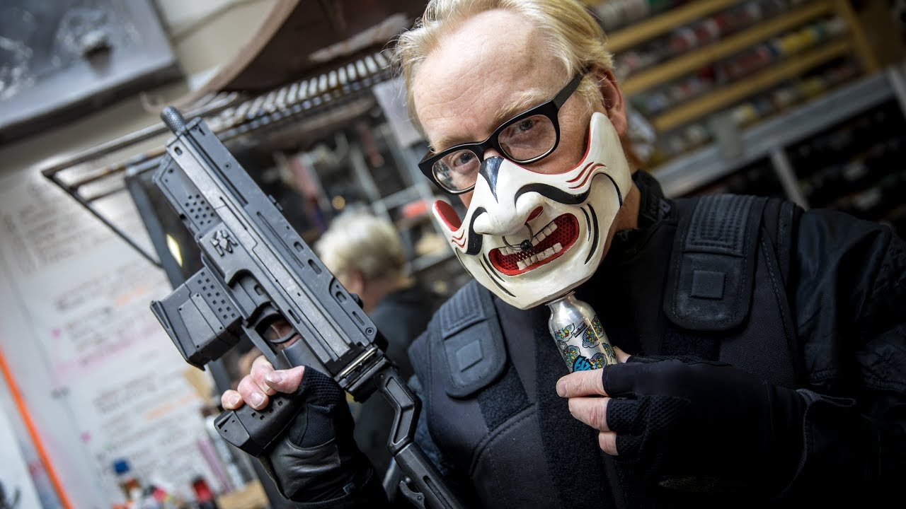 Inside Adam Savage's Cave: Ghost in the Shell Props!