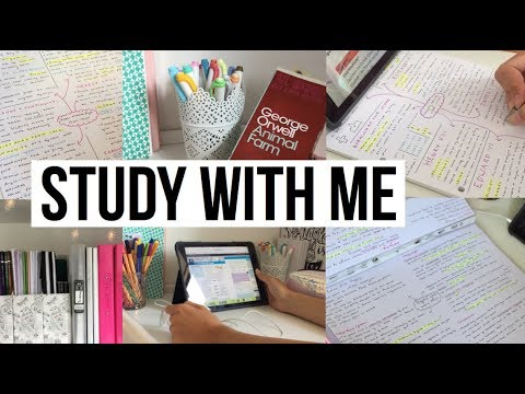 STUDY WITH ME // Preparing for Year 11