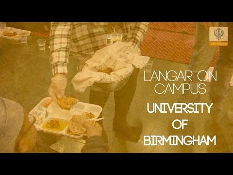 Langar On Campus - University of Birmingham Sikh Society