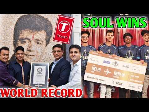 t-series-guinness-world-record!-|-soul-wins-pmco-pubg-mobile-finals---mortal-reaction-|-carryminati