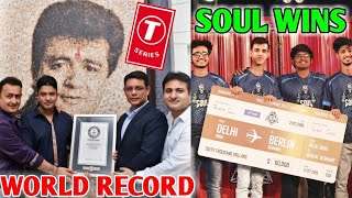 T-Series Guinness WORLD RECORD! | SouL Wins PMCO PUBG Mobile Finals - Mortal Reaction | CarryMinati