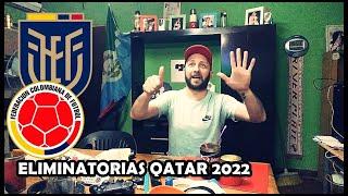 Ecuador 6 Colombia 1   Reacciones de un Hincha   Eliminatorias Qatar 2022
