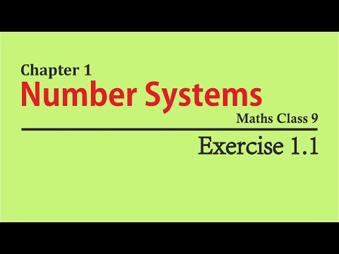 Free NCERT Solutions Class 9 Maths Chapter 1 Exercise 1 1 in