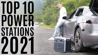 Top 10: Best Portable Power Stations of 2021 / Outdoor Solar Generator / Backup Battery Pack