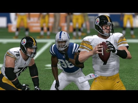 Steelers vs Colts | Thanksgiving Day Game Sim - Madden NFL 17 (Xbox One)