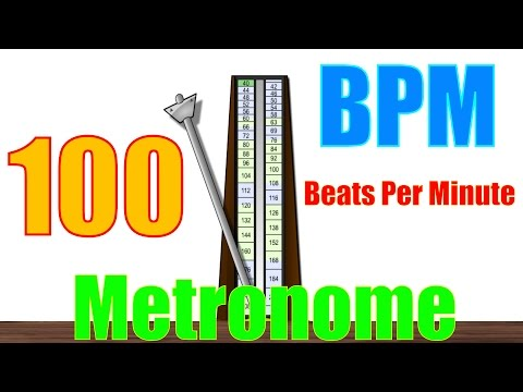 100 BPM Metronome