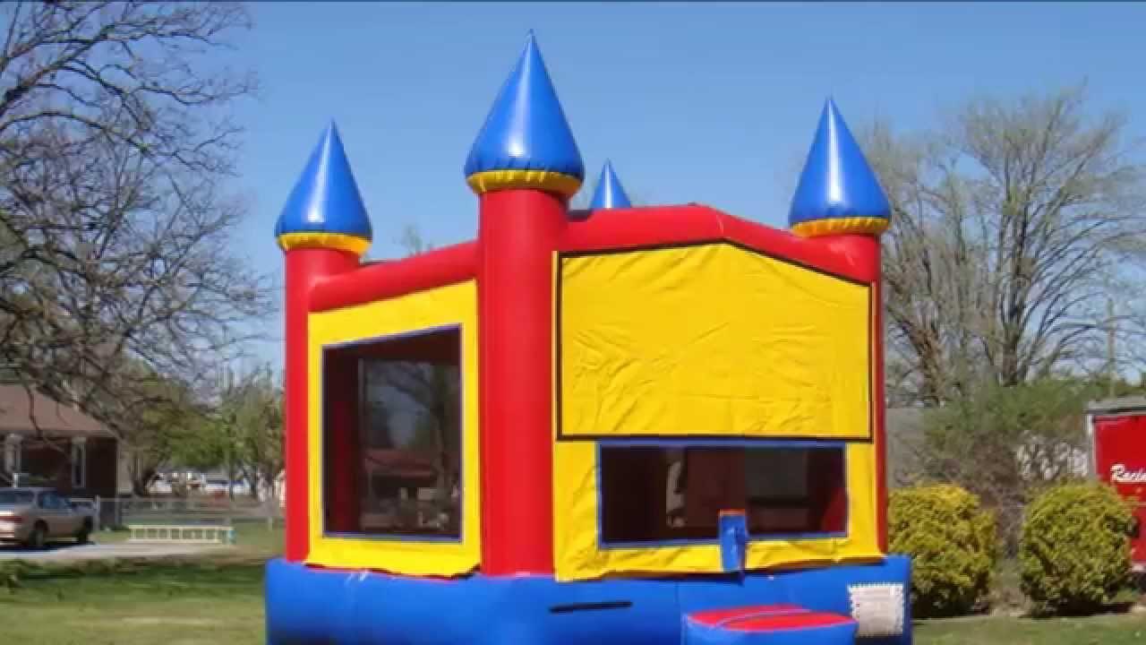 Rainbow Castle bounce house rental Nashville tn, Jumping Hearts Party  Rentals La Vergne TN