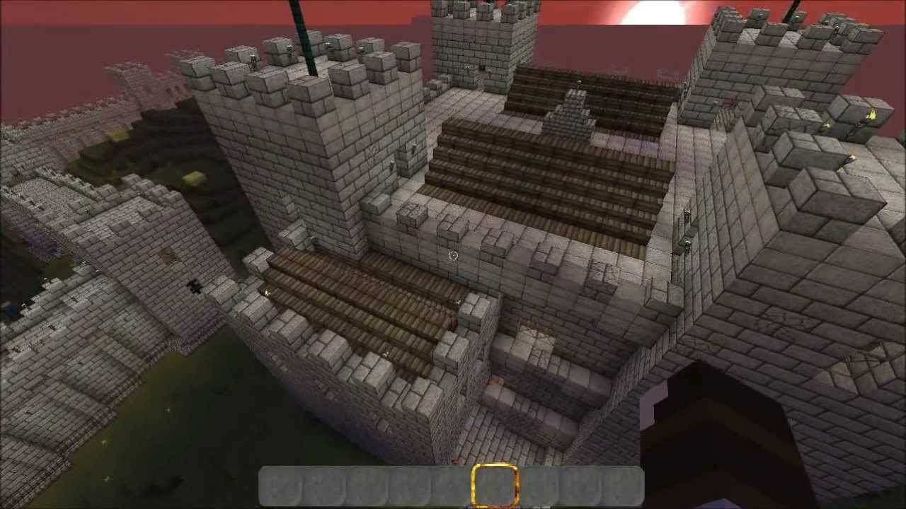 Minecraft Medieval City The Keep Part 5 Youtube