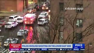 Police-involved shooting on the Lower East Side