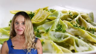Two-Toned Farfalle As Made By Salty Seattle