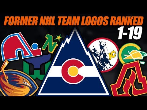 Former NHL Team Logos Ranked 1-19