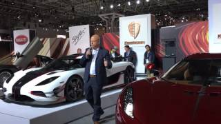 Koenigsegg Regera North American reveal