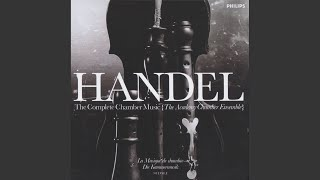 Handel: Trio Sonata for 2 Flutes and Continuo in G minor, Op.2, No.6, HWV 391 - 3. Allegro