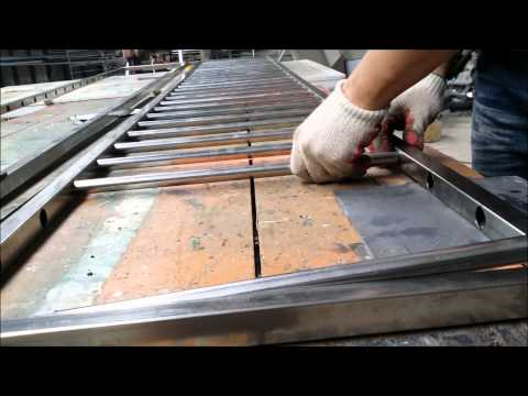 Make Window security grille