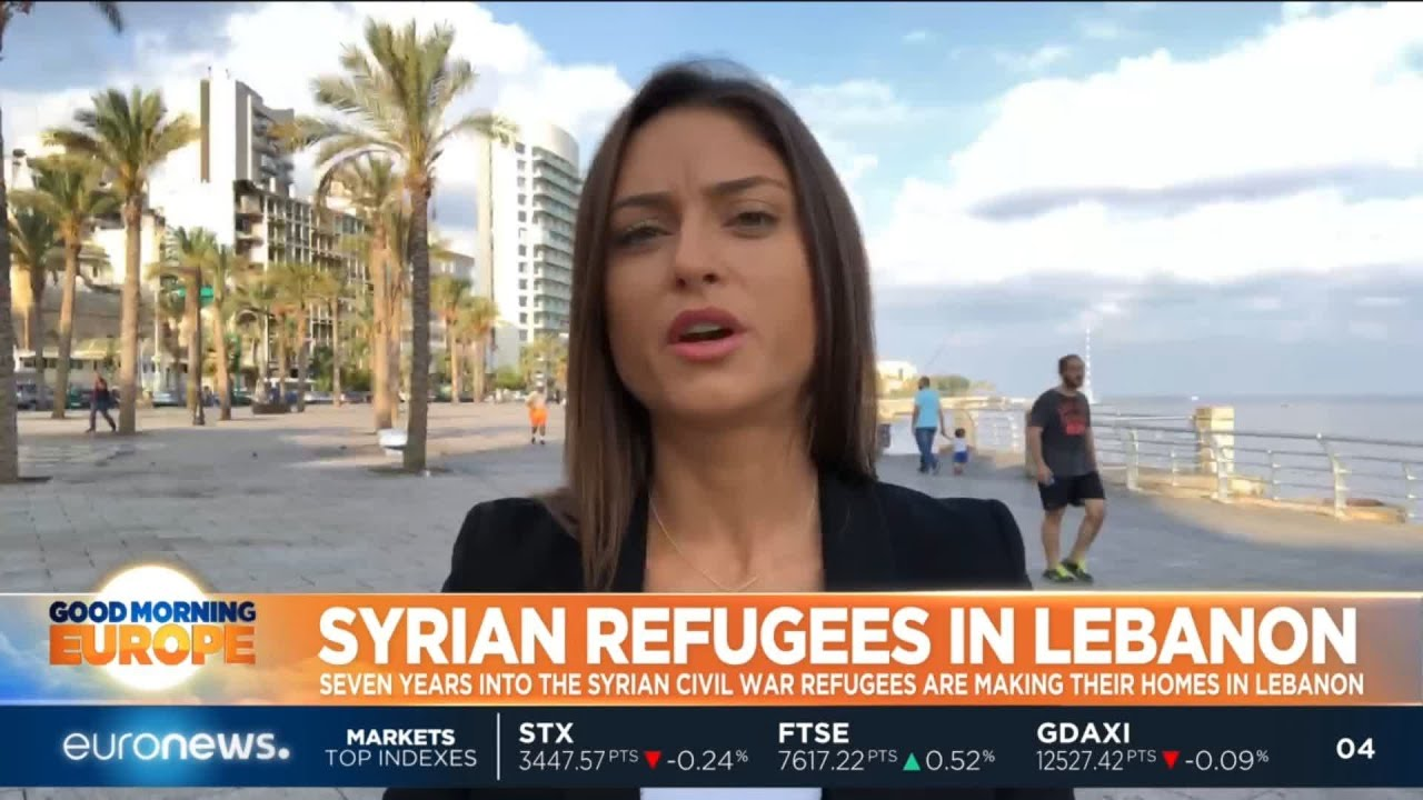 #GME | What is life like for the Syrian refugees living in Beirut?