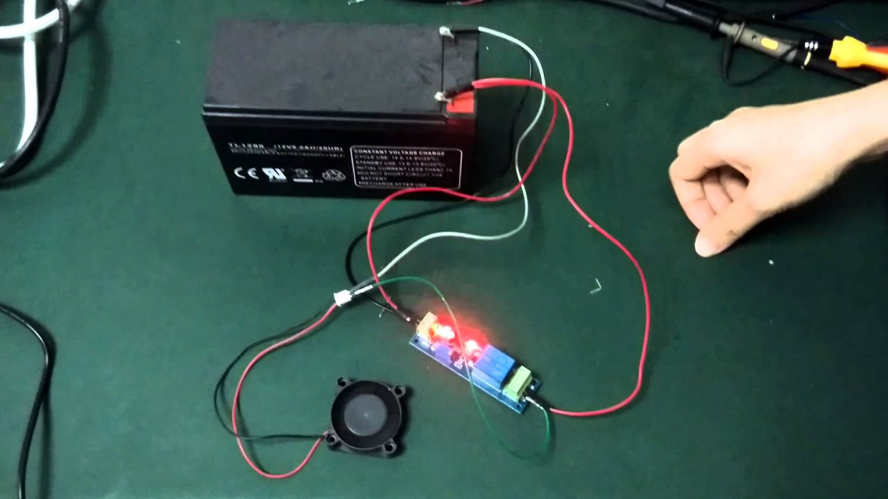 Timer Adjustable 12v Electronic Equipments Delay Relay Pcb Brick Wiring In Module Test From Iteadcc Youtube