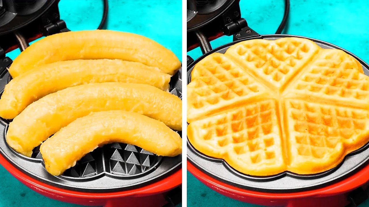 Unusual Cooking Ways You've Never Seen Before || Simple Recipes to Cook In Waffle Maker