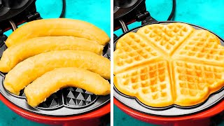 Unusual Cooking Ways You&#39ve Never Seen Before  Simple Recipes to Cook In Waffle Maker