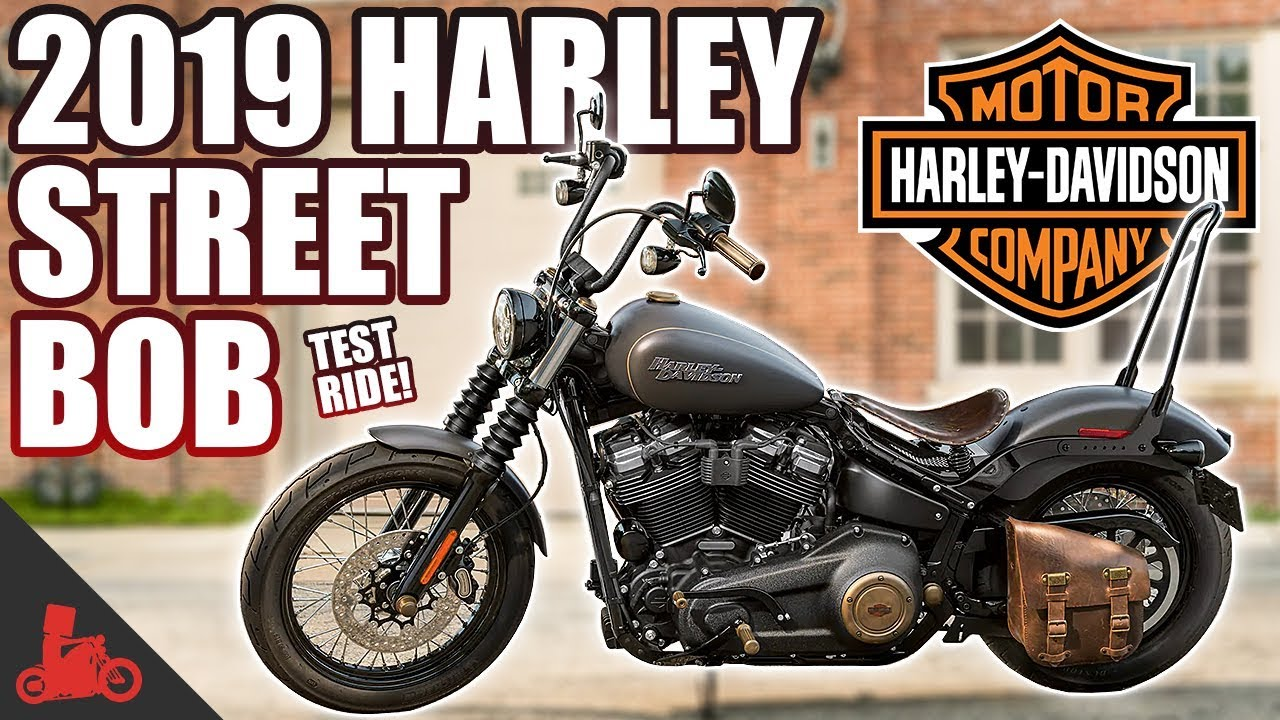 2019 harley davidson street bob 107 test ride youtube. Black Bedroom Furniture Sets. Home Design Ideas