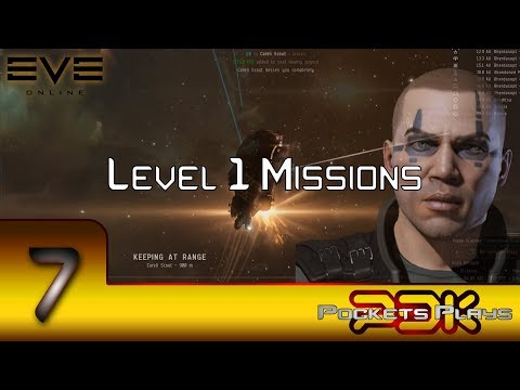 EVE Online - Starting level 1 Missions