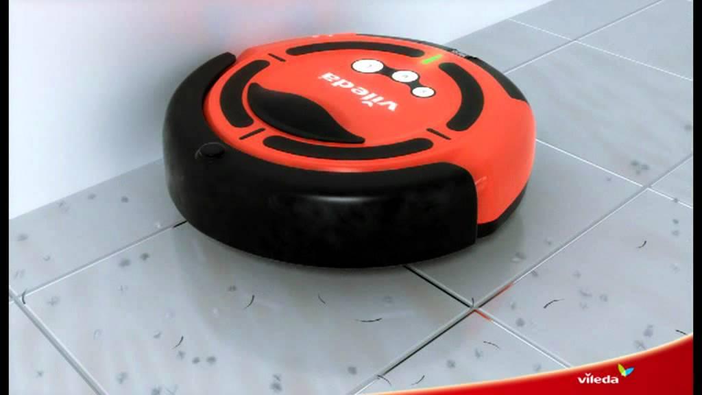 vileda cleaning robot saugroboter youtube. Black Bedroom Furniture Sets. Home Design Ideas