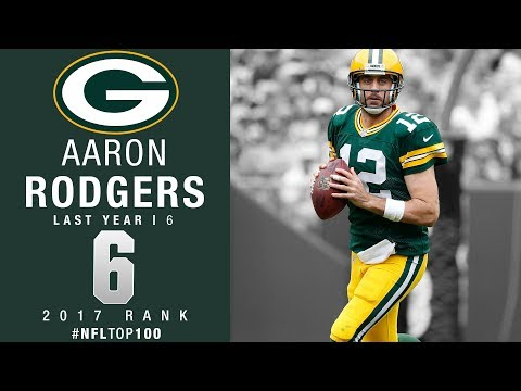 #6: Aaron Rodgers (QB, Packers) | Top 100 Players of 2017 | NFL