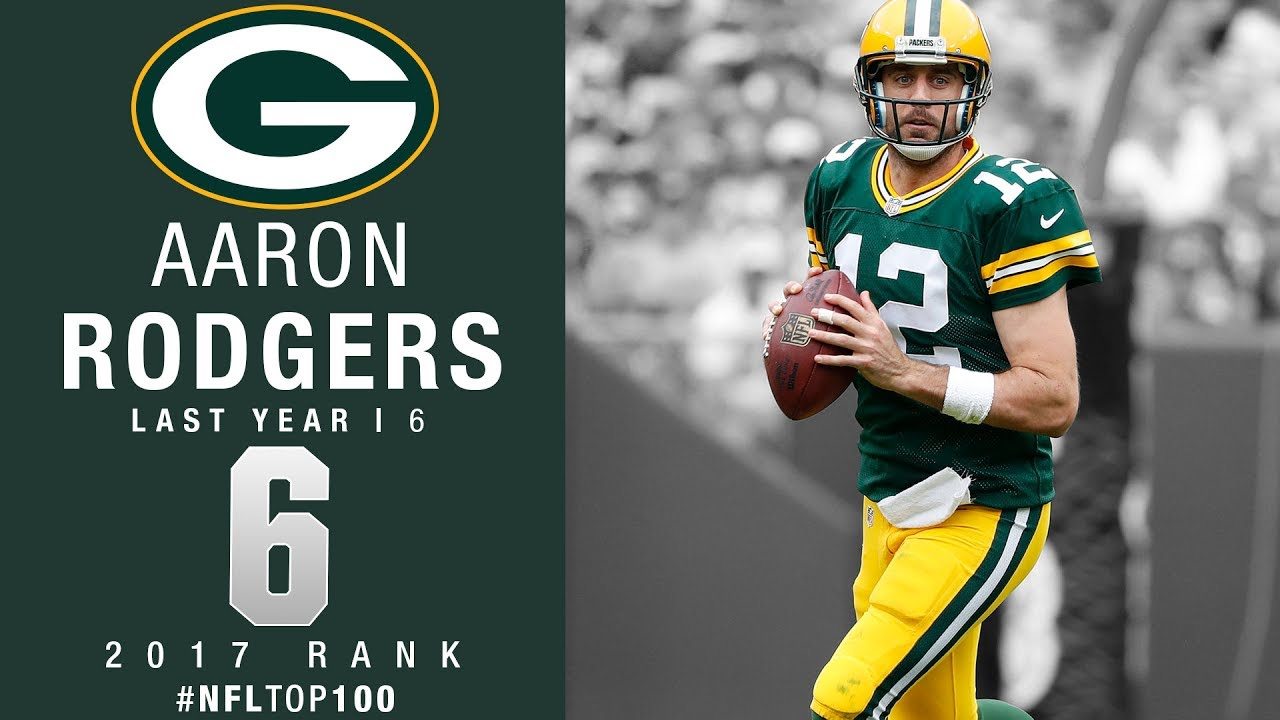 6 Aaron Rodgers QB Packers