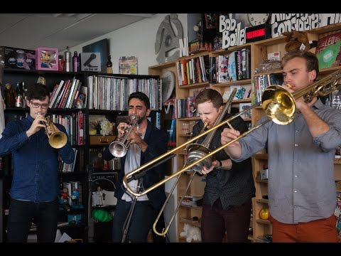 The Westerlies: NPR Music Tiny Desk Concert