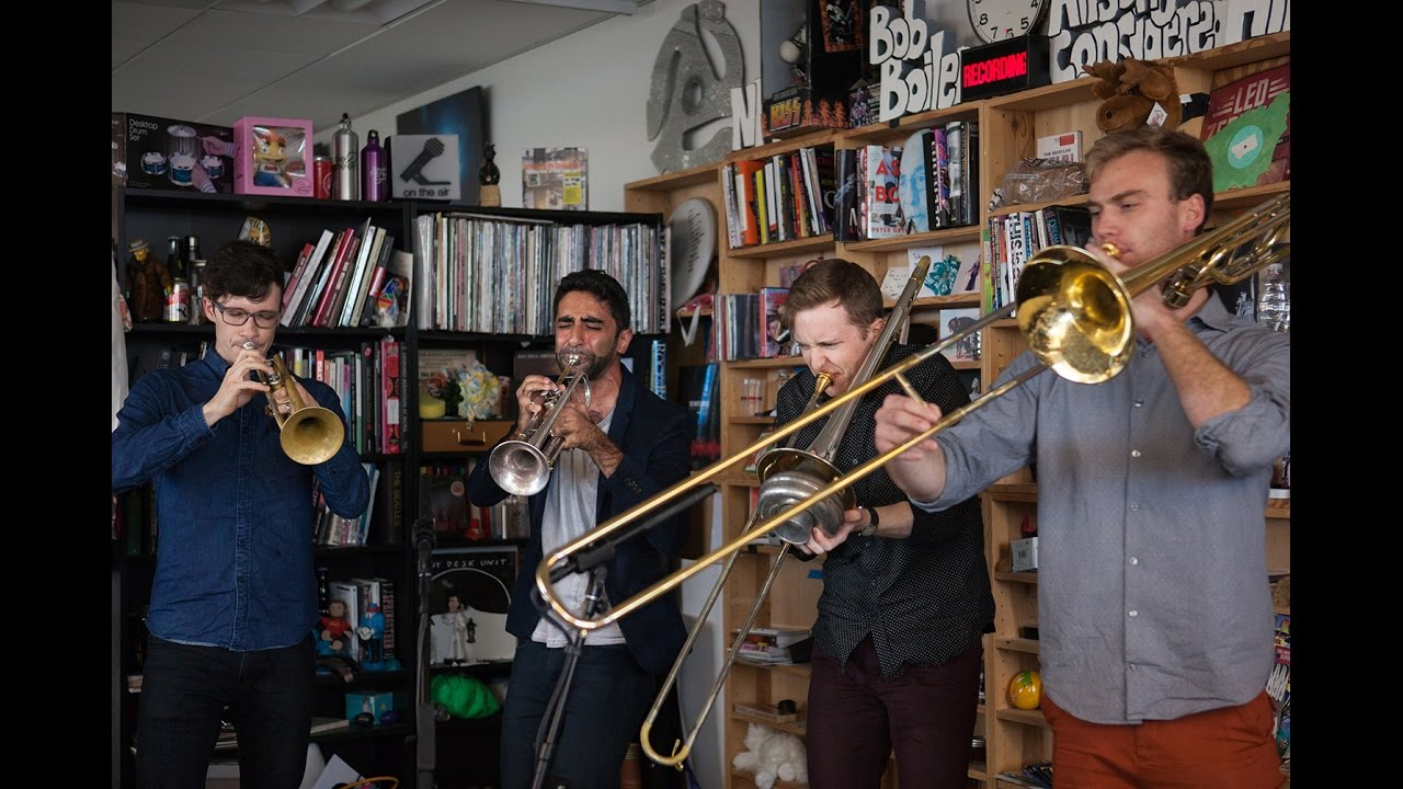 The Westerlies: NPR Music Tiny Desk Concert - YouTube
