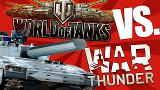 Танки в War Thunder против World of Tanks