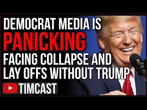 Democrat Media Outlets PANIC Realizing Without Trump They Will COLLAPSE, Mainstream Media IS OVER