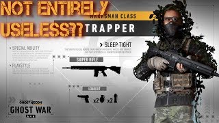 Trapper Is Not Entirely Useless!!?? (Ghost War PvP)