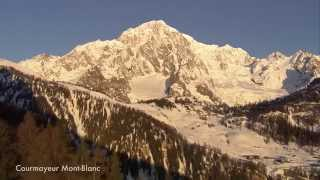 Courmayeur Mont Blanc ski resort