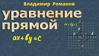 алгебра УРАВНЕНИЕ ПРЯМОЙ 9 класс Алимов 460 464 470 9 класс