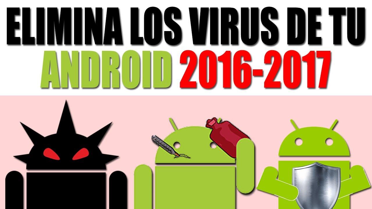 como borrar virus de android