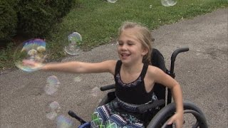 5-Year-Old Girl Paralyzed By Backbend Can Now Crawl Again thumbnail