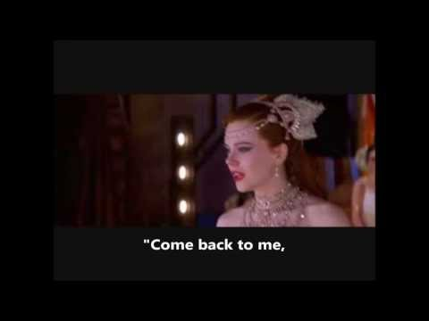 Moulin Rouge  Come What May Movie Version Full Finale  Lyrics On Screen