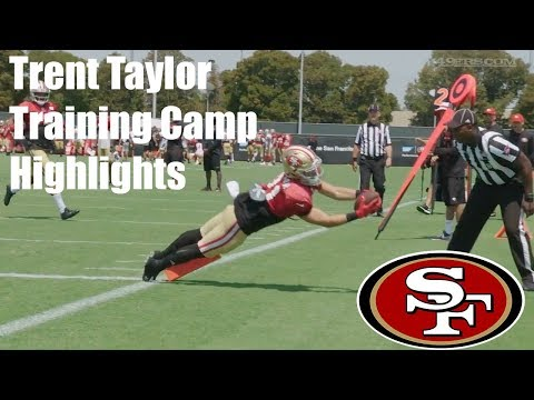 Trent Taylor Training Camp Highlights 2017 49ers