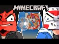 WE PRANK SQUIRREL AND SAVE HIS FAMILY ON MINECRAFT! - (Revenge for Xavier) Ep. 20!