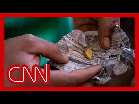 CNN tracks trail of 'bloody gold' that leads to Venezuela's government