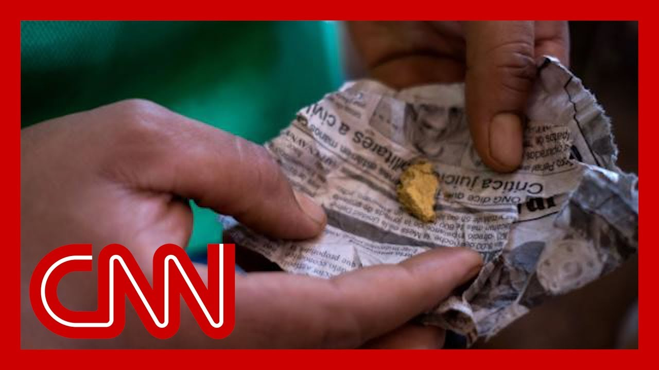 CNN:CNN tracks trail of 'bloody gold' that leads to Venezuela's government